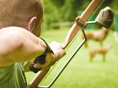 Archery Tag en Isère à Beaucroissant